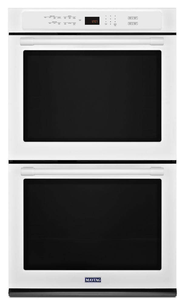 Maytag30-Inch Wide Double Wall Oven With True Convection - 10.0 Cu. Ft.