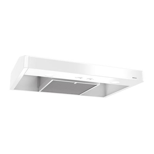 Tenaya 36-inch 250 CFM White Under-Cabinet Range Hood with light