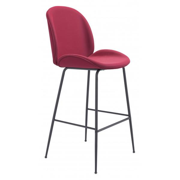Miles Bar Chair Red