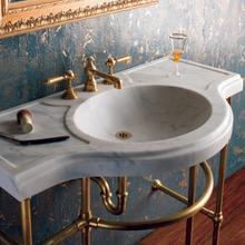 See Details - Renaissance Console Top Honed Carrara Marble