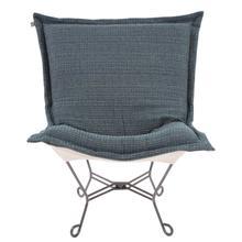 View Product - Scroll Puff Chair Alton Indigo