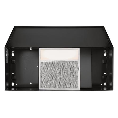 Broan® 30-Inch Convertible Under-Cabinet Range Hood w/ Easy Install System, 220 CFM, Black
