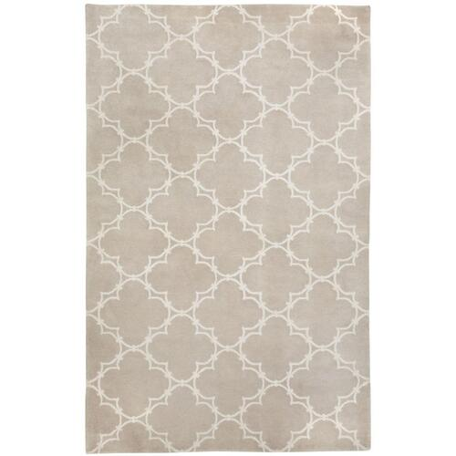 Quatrefoil Natural Linen - Rectangle - 5' x 8'