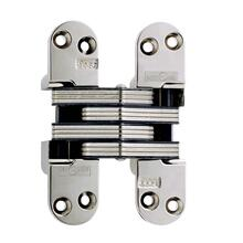 Model 218 Invisible Hinge Bright Nickel