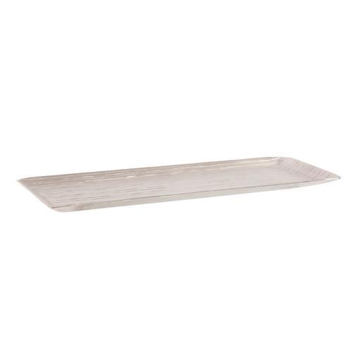 Howard Elliott - Chiseled Silver Tray, Large
