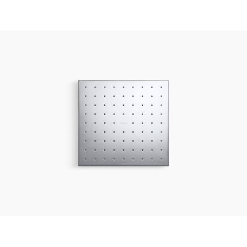 "Vibrant Titanium 10"" Rainhead With Katalyst Air-induction Technology, 2.5 Gpm"