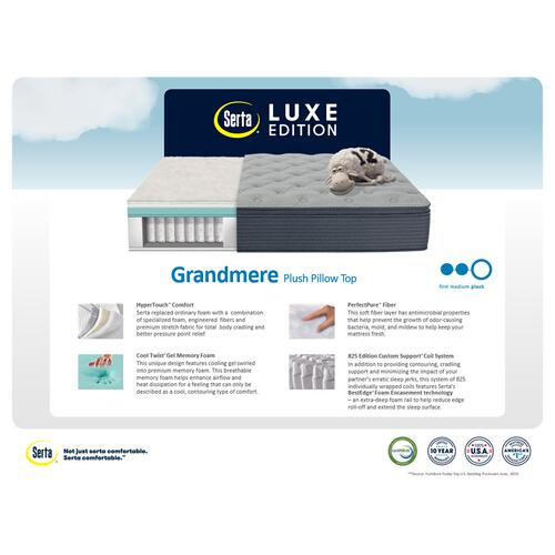 Luxe Edition - Grandmere - Plush - Pillow Top - Cal King