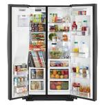 Whirlpool 36-inch Wide Side-by-Side Counter Depth Refrigerator - 23 cu. ft.