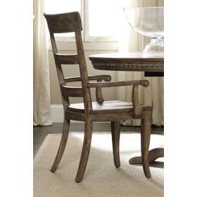 Dining Room Sorella Ladderback Arm Chair - 2 per carton/price ea