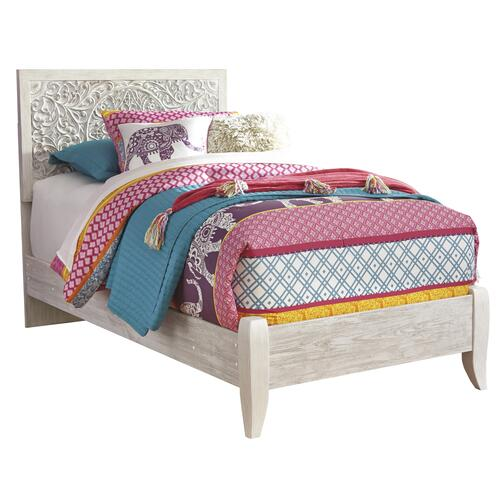 Twin Size Panel Bed