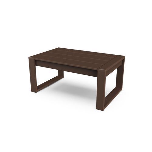 Mahogany EDGE Coffee Table