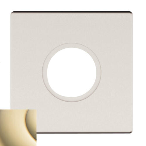 Baldwin - Lifetime Polished Brass R017 Estate Rose