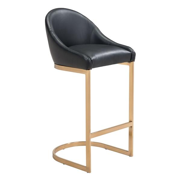 See Details - Scott Bar Chair Black