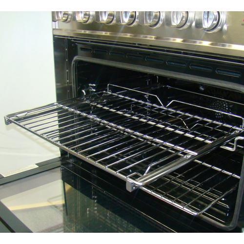 Verona - Easy Glide Rolling Rack: Single Oven Range (1 Rack per Set)
