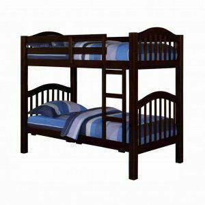 ACME Heartland Twin/Twin Bunk Bed - 02554 - Espresso