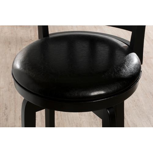 Presque Isle Swivel Counter Height Stool - Black