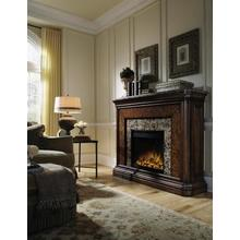 San Mateo Electric Fireplace Mantel