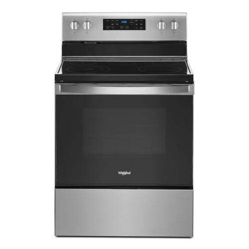 Gallery - 5.3 cu. ft. Whirlpool® electric range with Frozen Bake technology