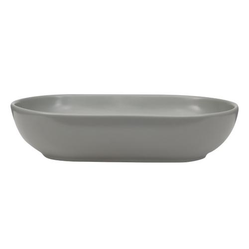 Harmony Oval Above Counter Basin - Matte White