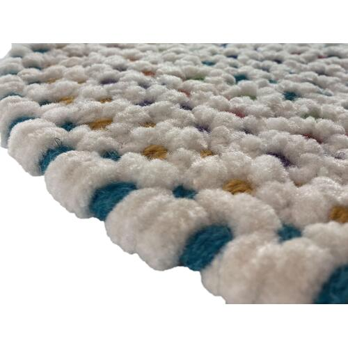 Dramatic Static Carnival Braided Rugs (Custom)
