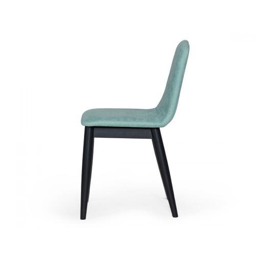 VIG Furniture - Modrest Lomeli - Modern Blue Dining Chair (Set of 2)