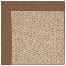 Creative Concepts-Cane Wicker Canvas Cocoa Machine Tufted Rugs