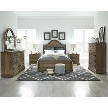 View Product - Queen Bedroom sold as a set with two nightstands. #B683