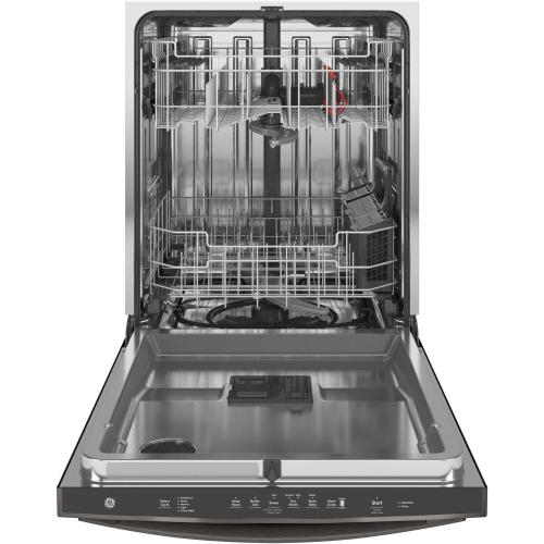 GE Appliances - GE® Top Control with Stainless Steel Interior Dishwasher with Sanitize Cycle & Dry Boost with Fan Assist