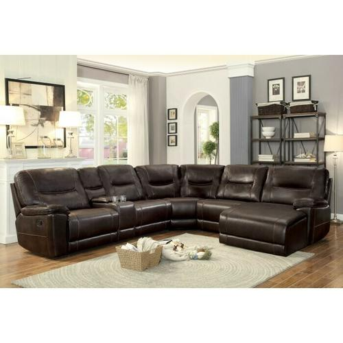Gallery - 6-Piece Modular Reclining Sectional with Right Chaise