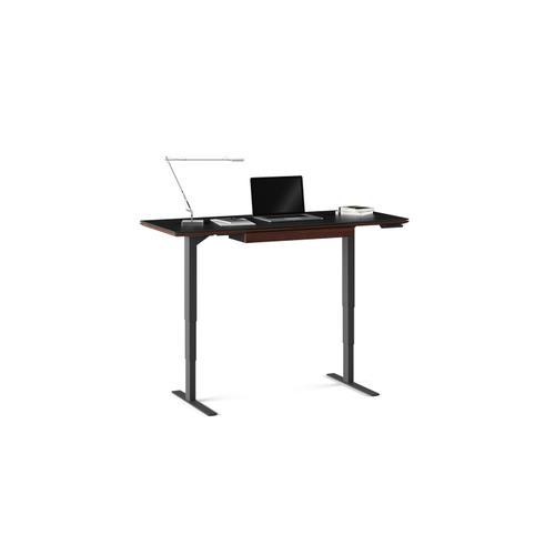 """BDI Furniture - Sequel 20 6151 Standing Desk  60""""x24"""" in Chocolate Stained Walnut"""