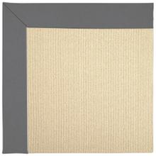 "Creative Concepts-Beach Sisal Canvas Charcoal - Rectangle - 24"" x 36"""