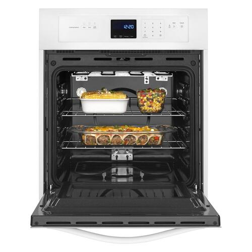 Gallery - 3.1 Cu. Ft. Single Wall Oven with AccuBake® System White