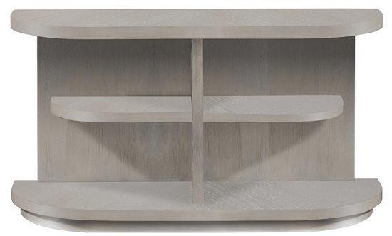 Sofa/Console Table - Pearlized Gray Finish