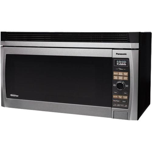 Panasonic - Luxury Full Size 2.0 Cu. Ft. Over-the-Range Microwave Oven with Inverter Technology, Stainless