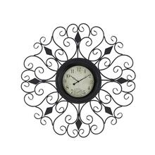 "MTL OUTDOOR WALL CLOCK 36""D"