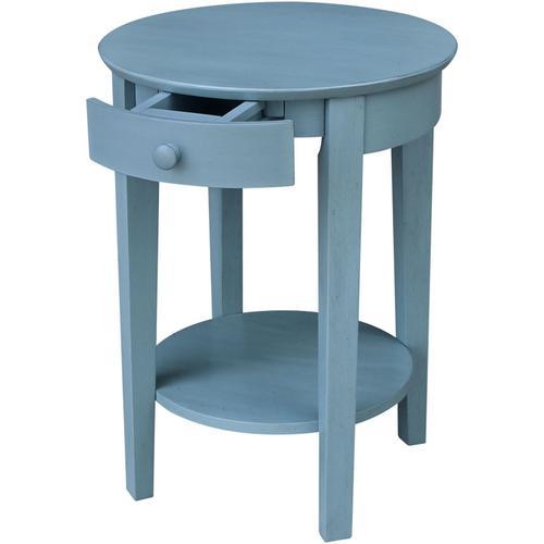 John Thomas Furniture - Phillips Table in Ocean Blue