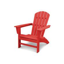 View Product - Nautical Adirondack Chair in Vintage Sunset Red