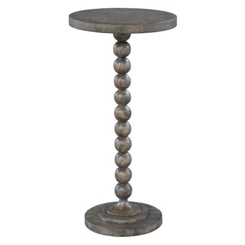 2-3511 Lincoln Park Beaded Post Chairside Table