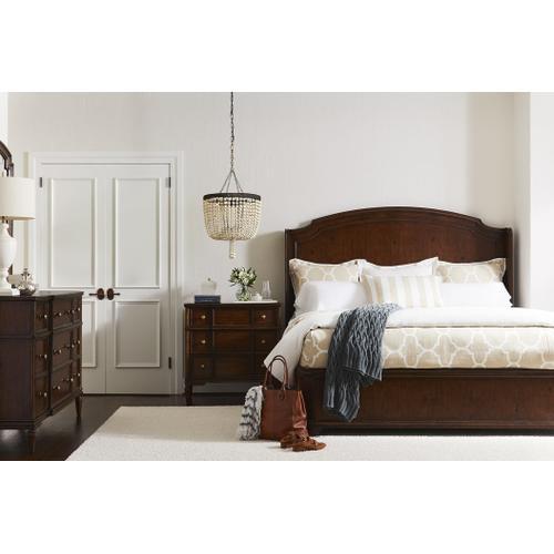 Stanley Furniture - Vintage Panel Bed - Vintage Cherry / King