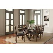 Alston Rustic Knotty Nutmeg Dining Chair Product Image