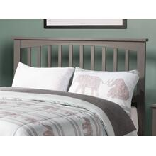 Mission Headboard Full Atlantic Grey