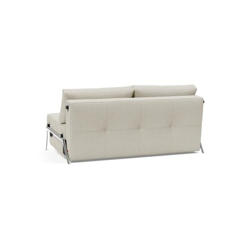 """CUBED 02 DELUXE 63""""X79"""", FRONT/MID SEAT/CUBED 02 DELUXE SOFA BACK, 63""""X79""""/CUBED LEGS, ALUMINIUM"""