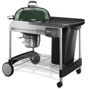 WeberPERFORMER® DELUXE CHARCOAL GRILL - 22 INCH GREEN