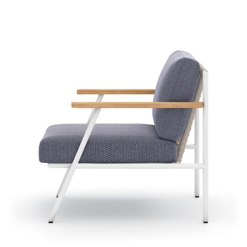 Faye Navy Cover Aroba Outdoor Chair