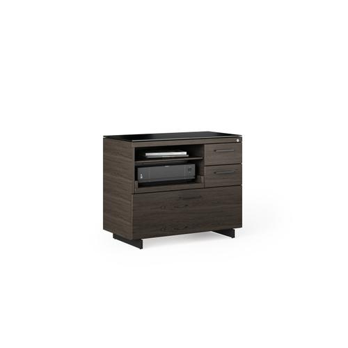 BDI Furniture - Sequel 20 6117 Multifunction Cabinet in Charcoal Black