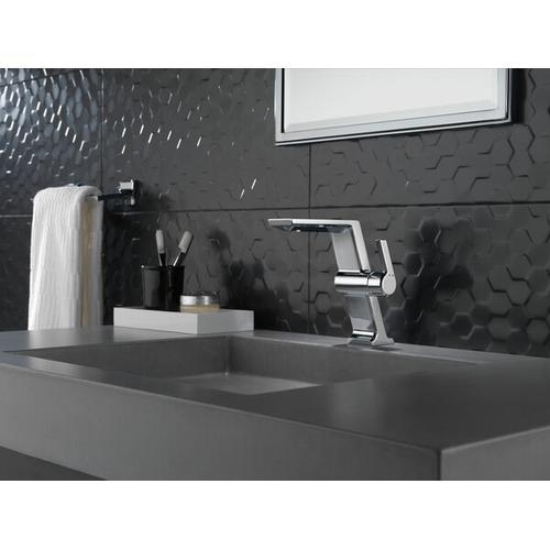 "Black Stainless 8"" Towel Bar"