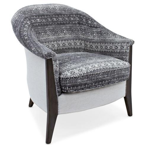 Sam Moore Living Room Easy Breezy Exposed Wood Chair