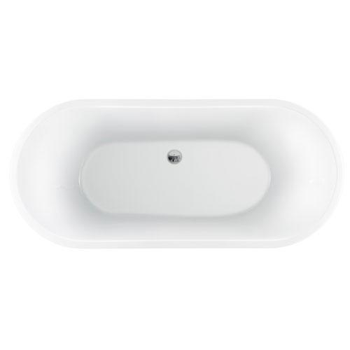 """Pompei 59"""" Acrylic Tub,"""