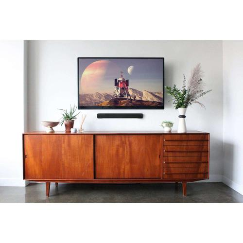 Yamaha - SR-C20ABL Compact Sound Bar With Built-in Subwoofer