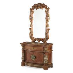 Bachelor's Chest W/decorative Mirror (2pc)